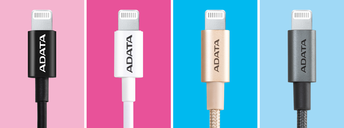 ADATA Sync and Charge Lightning Cable, USB, MFi Blue 4