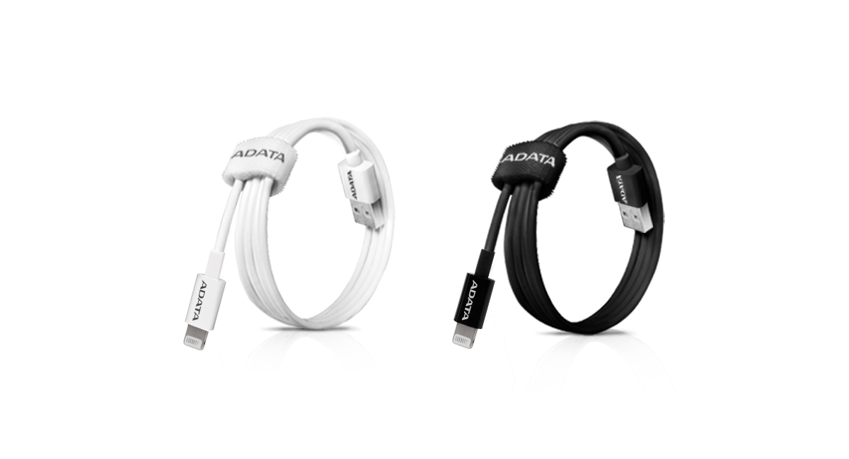 ADATA Sync and Charge Lightning Cable, USB, MFi Blue 5